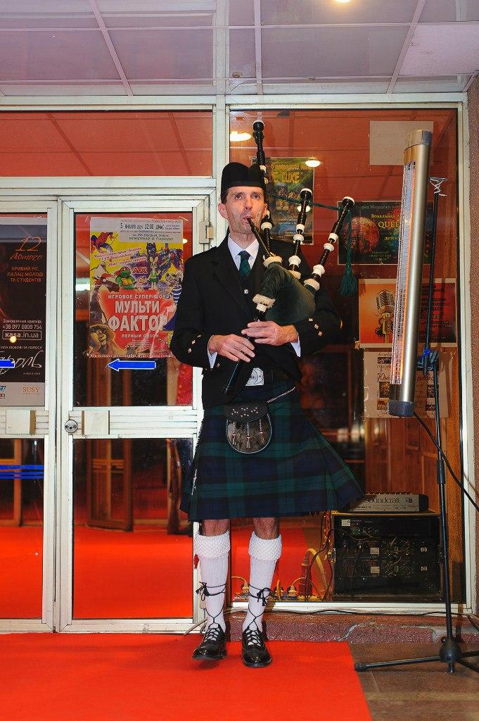 шотландский волынщик