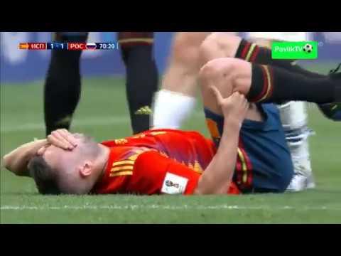 Россия - Испания 1-1 (4-3) Обзор матча 01.07.2018 ЧМ 2018