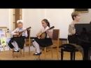 Первый Светин концерт на мандолине в музыкальной школе 21 05 2018