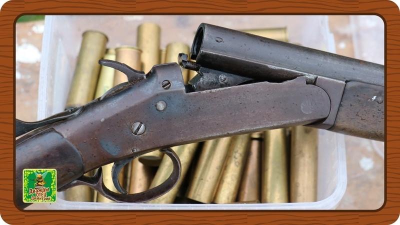 Ружье ИЖ-5 1928 г.в. Легенда СССР. Обзор и стрельбы.