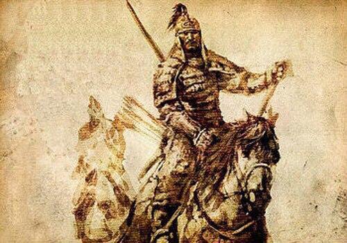 Один из эпизодов Казахо-Калмыкской войны.