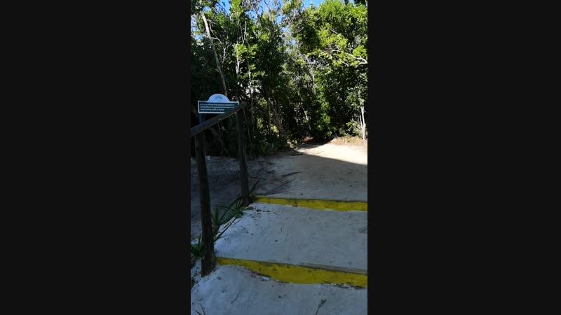 Куба дорога до пляжа