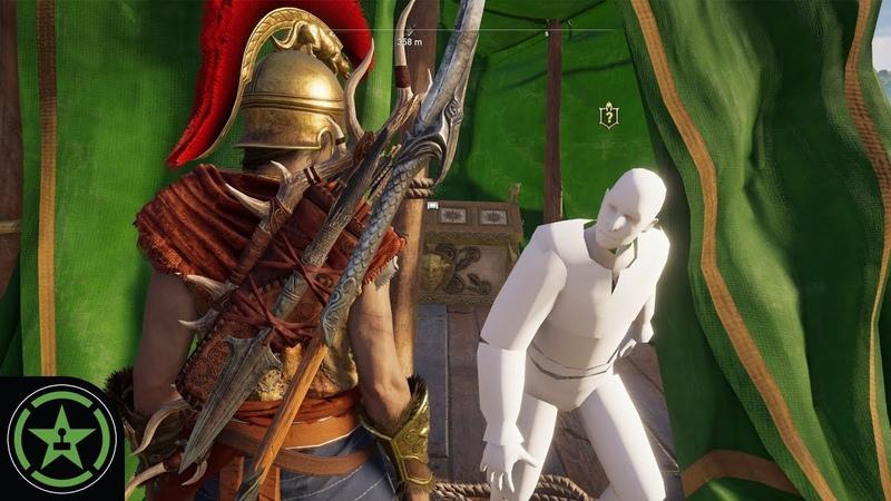 Assassins Creed Odyssey - Mannequin Lieutenants Glitch