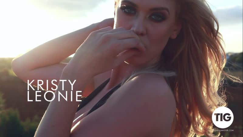Kristy Leonie erotica sex striptease new HD big tits