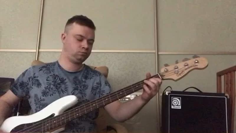 Моё хобби-бас гитара