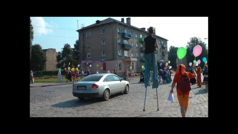 Карнавал в Черняховске июль 2012 го