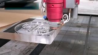 Резка акрила 25 мм лазер CO2 280 Watt