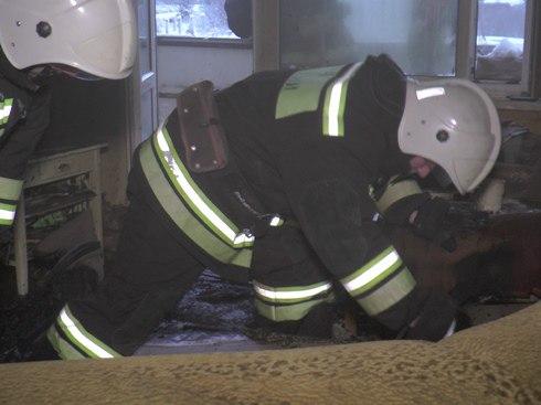 В Мончегорске в горящей квартире погибла женщина