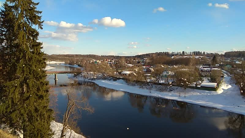 Вид на реку Руза