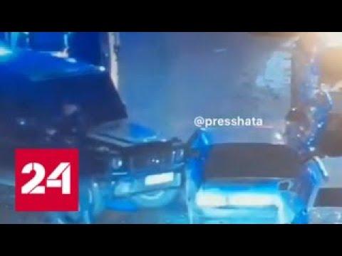 В Москве бизнесмен расстрелял своих похитителей и протаранил их машину - Россия 24