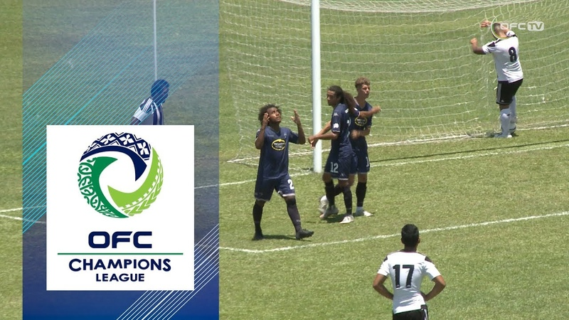 2019 OFC CHAMPIONS LEAGUE   GROUP D   Highlights   Tupapa Maraerenga FC v Auckland City FC