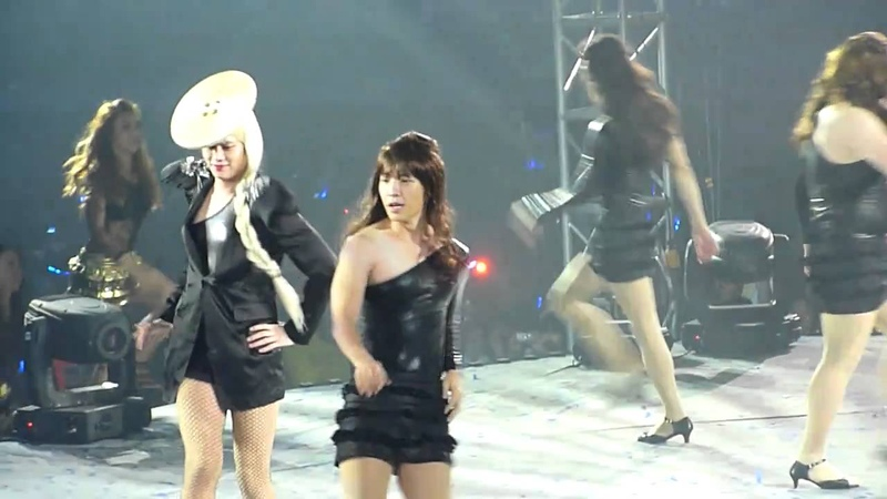 [fancam] 26.02.2011 SS3 Manila - Lady Hee Hee with Beyonce Wannabes