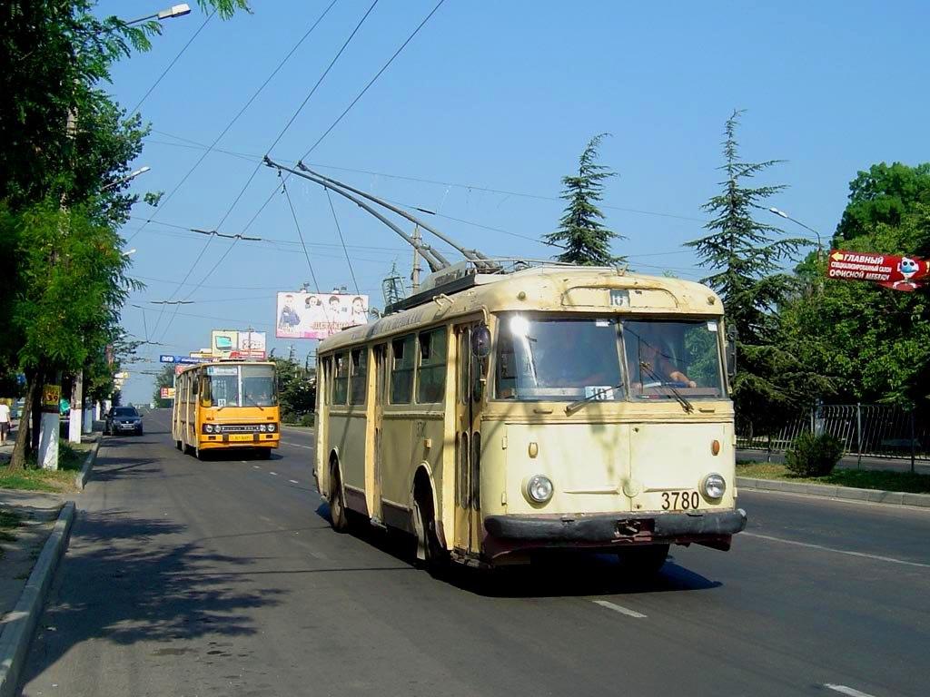 Самый старый троллейбус