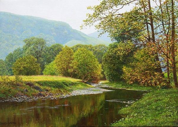 Британский художник-пейзажист Дэвид Смит родился в Thundersley, Бенфлинт, Эссекс в 1949году. И в настоящее время входит в число самых известных художников Великобритании. Еще в детстве, при