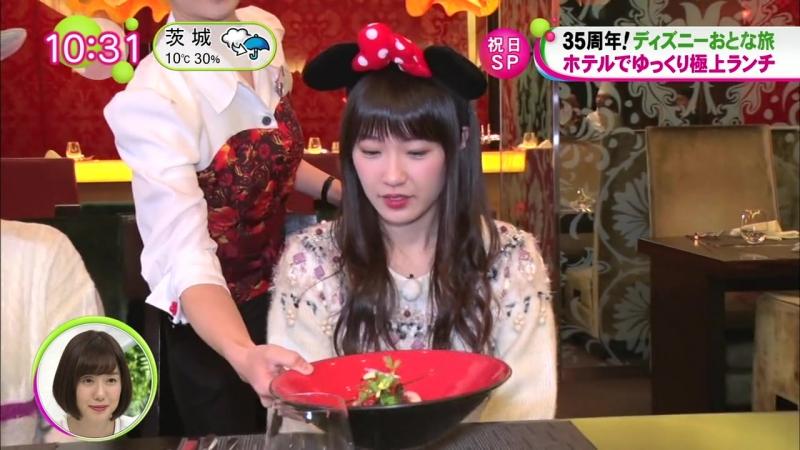 170108 NONSTOP Nogizaka46s Disney Trip Takayama Kazumi Itou Karin