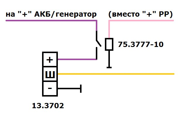 Генератор двигатель 402 электрическая схема