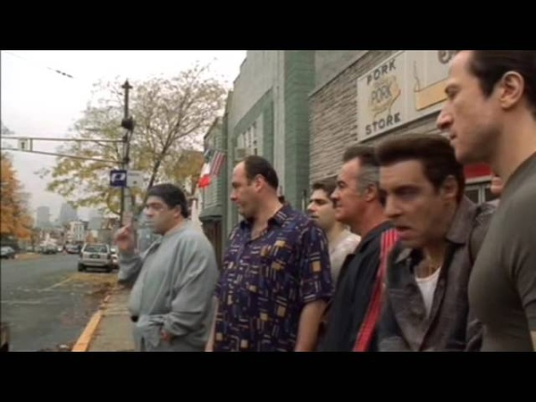 Mob life - Great scene from Τhe Sopranos