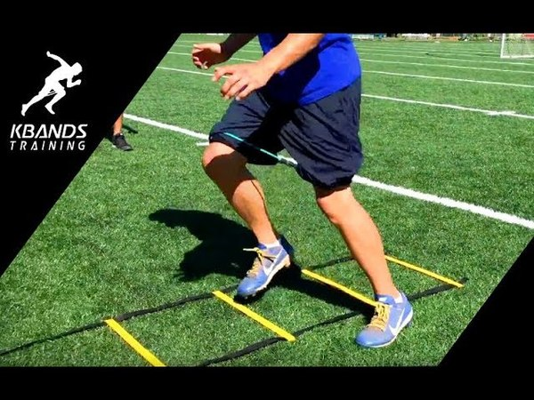 New Speed and Agility Training At The Park | Increase Top Speed With Ladder Drills