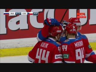 Голы России против Чехии