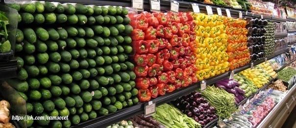 Как смыть химию с овощей и фруктов