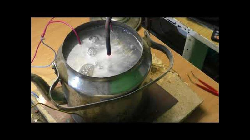 Ядерный синтез в чайнике на кухне сумасшедший опыт!