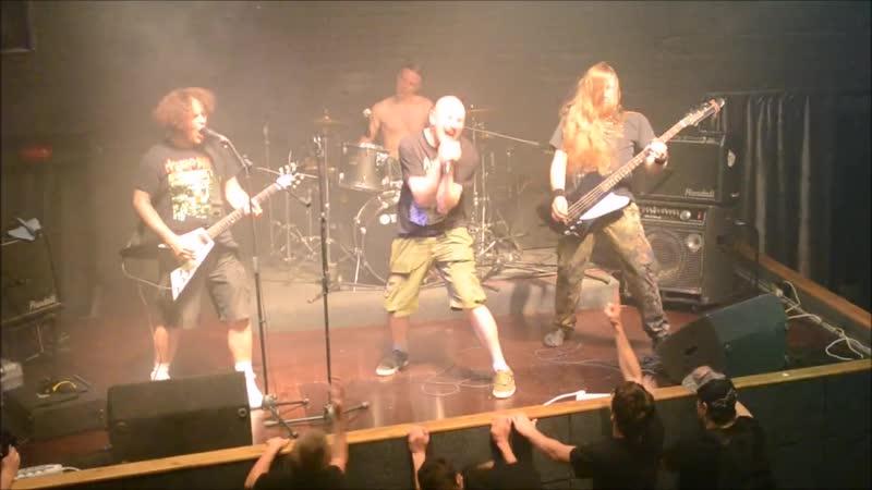 HEAD BRAIN BLOCKADE - концерт на фестивале BRUTAL FEST 2 в клубе Котёл (Дмитров) (30.08.15)