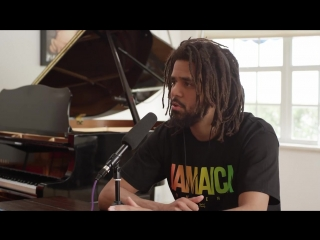 J. Cole x Angie Martinez Interview at Salaams House