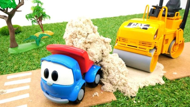Il camioncino Leo. La strada nella città dei giocattoli. Giochi per bambini