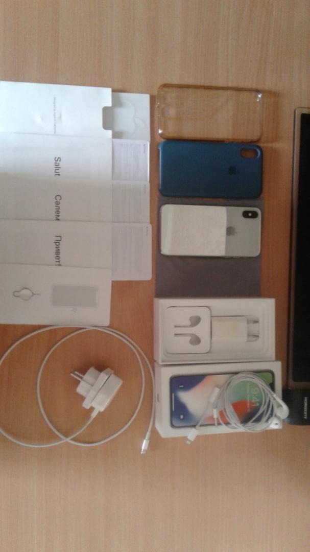 Продам iPhone X в хорошем сотстоянии и в отличном рабочем. С...