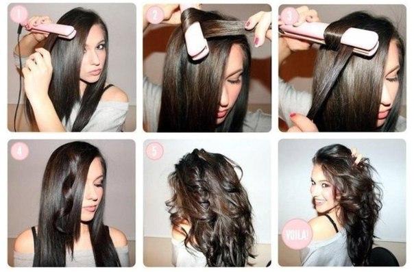 Как красиво накрутить короткие волосы на плойку
