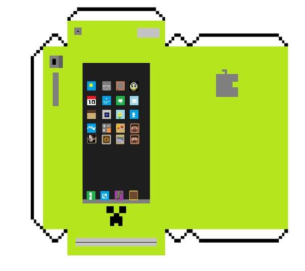 Minecraft из бумаги схемы и блоки - ИзобретайКа