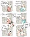Чертовски милые комиксы о том, как мужчины относятся к женским странностям!