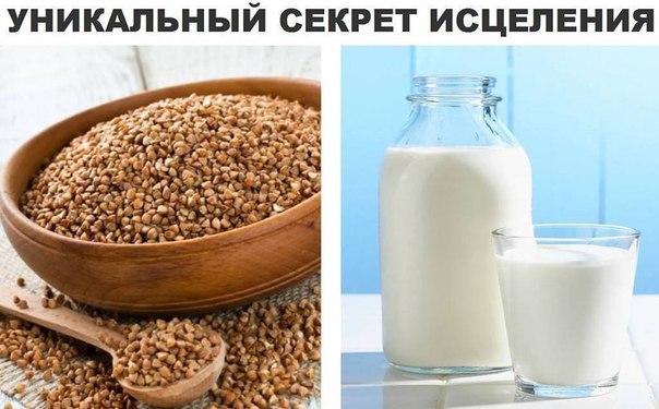 Лечение панкреатита гречкой и кефиром