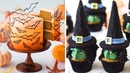 Witch Cupcakes Halloween Bat Cake 🦇🧙 Halloween Cakes 🎃 Amazing Cake Decorating Ideas (Oct) 12