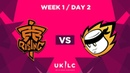 Fnatic Rising vs. MnM Gaming | UK League Championship | Week 1 Day 2 | Spring Split 2019
