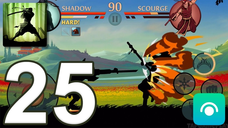 Shadow Fight 2 - Gameplay Walkthrough Part 25 - Act 4 (iOS, Android)