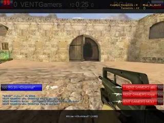 CS 1.6 VENTGamers vs RG.tm @dust2