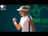 Elena Vesnina vs Donna Vekic | Miami Open 2R | LIVE