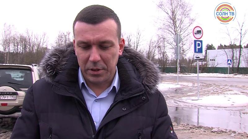Жители частных домов в Кривцово пожаловались на шум от большегрузов