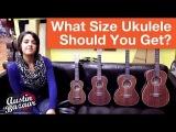 Different Sizes of Ukulele - Ukulele For Beginners Part 1