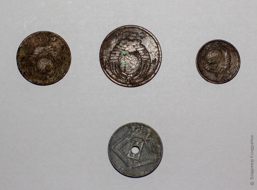 Чистка монет - Монеты после чистки содой и мылом, Аверс