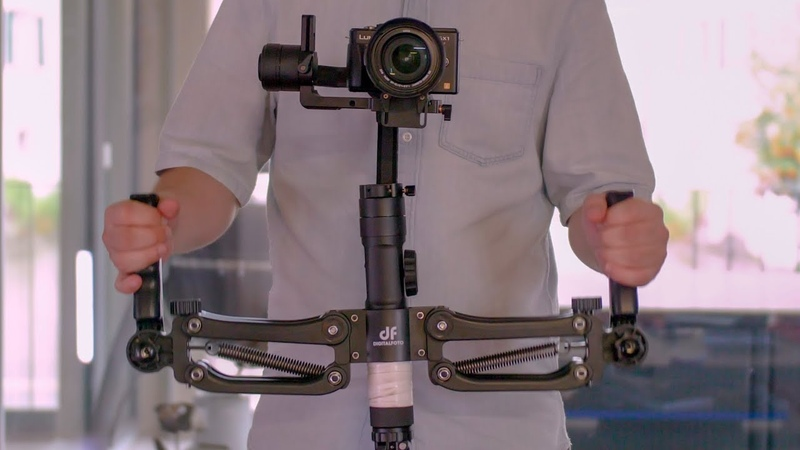 Z axis stabilizer for gimbal like ronin s DigitalFoto DH04 test