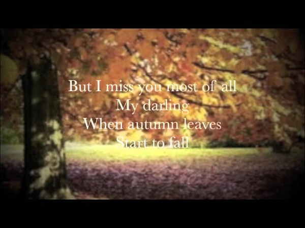 COVER - Autumn Leaves (Eva Cassidy) with Lyrics