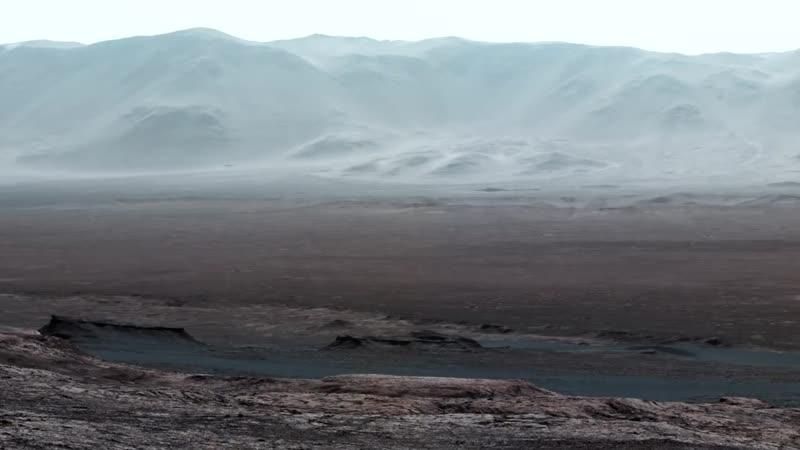 Марс 2018 Рассвет на Марсе