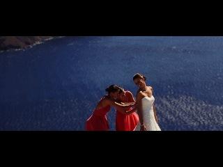 Nikita and Anna Greece Santorini Wedding Highlights