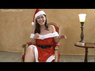 Kymberly Jane in Christmas Special Interview HD 92