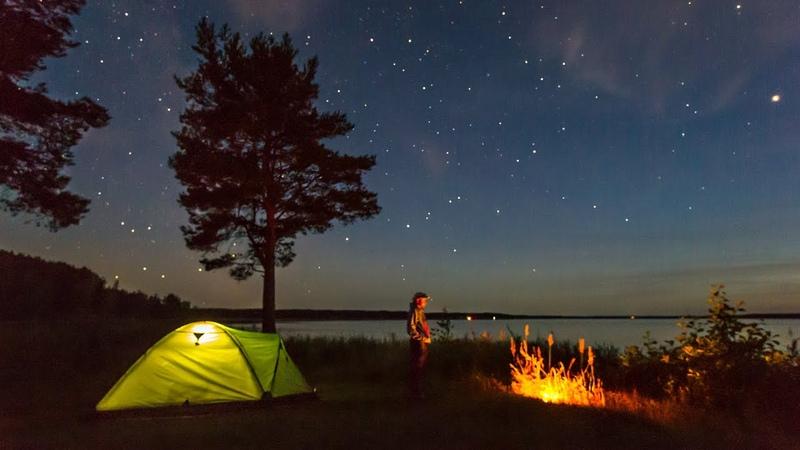 Сны Под Звёздами Sleeping under the Stars TimeLipse Star Таймлапс со звездным небом timescapes