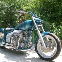 Двигатель мотоцикла на заз