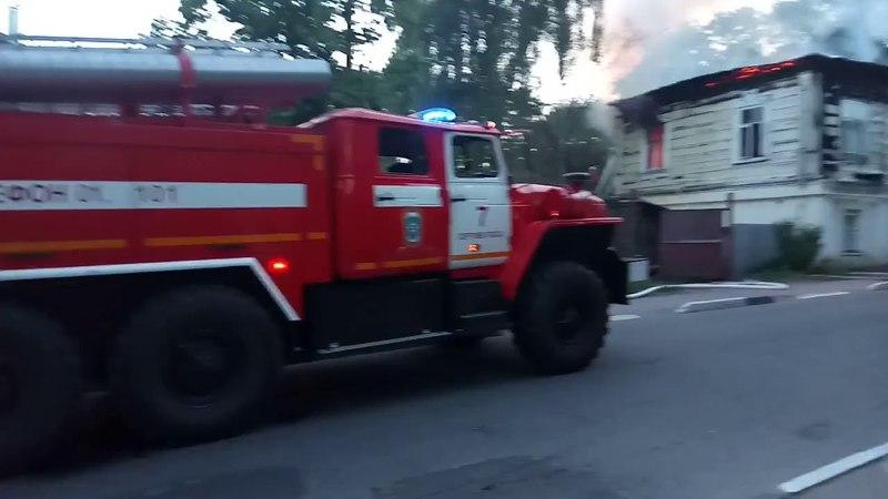 За 5 дней, чтобы не восстанавливать третий раз поджигают старинный дом в Сергиевом Посаде