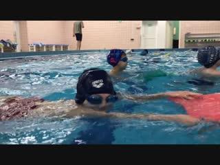 Плаваем на груди😉-Спортивный клуб дельфин г. Тамбов